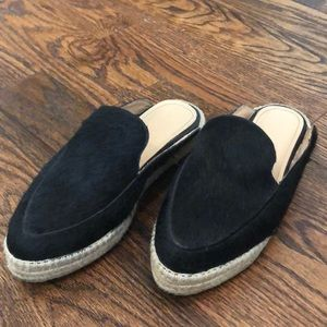 Kaanas Black and Tan slip on loafers